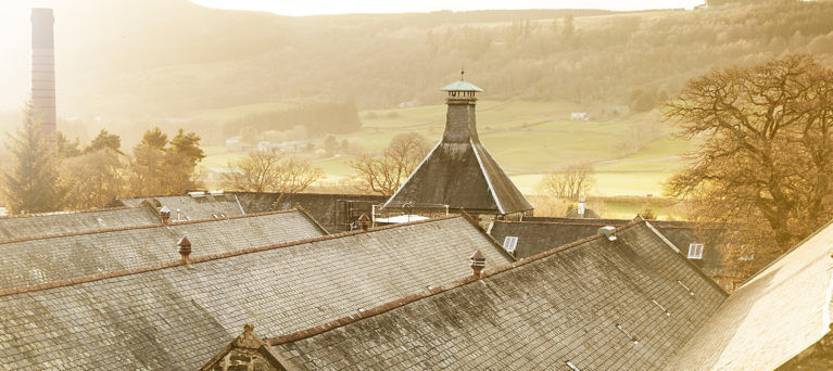 Dewars Aberfeldy Distillery, where visitors can enjoy a distillery tour