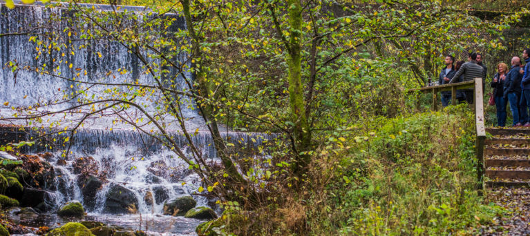 The Pitillie Burn, the Aberfeldy water source - part of the Dewar's immersion luxury whisky tour