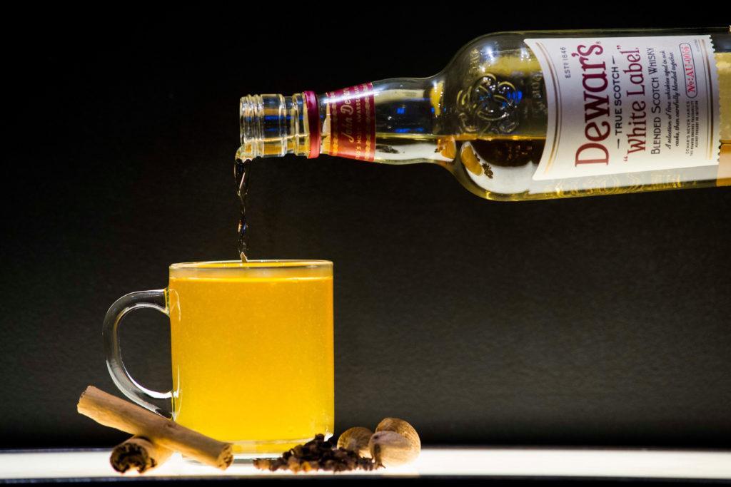 Whisky Hot Toddy at Dewar's Aberfeldy Distillery