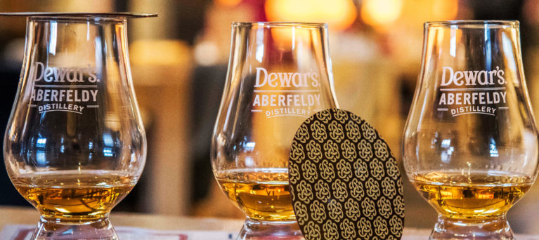The Chocolate and Whisky Tasting Tour at Dewar's Aberfeldy Distillery